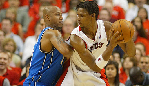 Spiel 4: Toronto Raptors - Orlando Magic 94:106 (Playoff-Stand: 1-3)