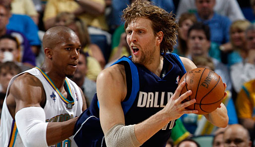Spiel 5: New Orleans Hornets - Dallas Mavericks 99:94 (Playoff-Stand: 4-1)