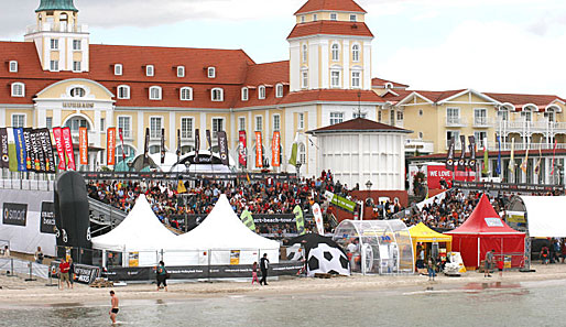 Die smart beach tour war zu Gast in Rügen