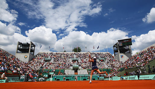1. Tag bei den French Open