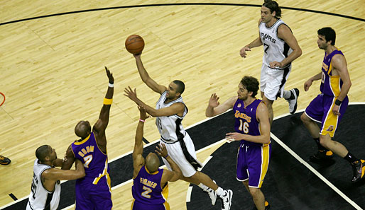 San Antonio Spurs - Los Angeles Lakers 103:84 (Playoff-Stand: 1-2)