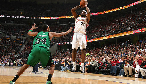 Spiel 6: Cleveland Cavaliers - Boston Celtics 74:69 (Playoff-Stand: 3-3)