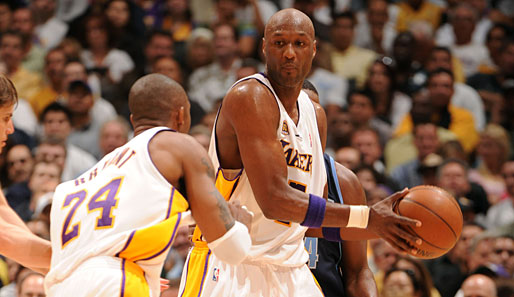 Los Angeles Lakers, Utah Jazz, Lamar Odom, Kobe Bryant
