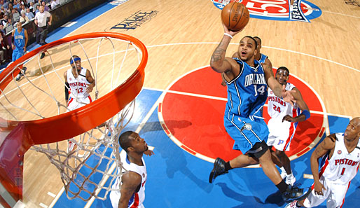 Orlando Magic, Detroit Pistons, Jameer Nelson