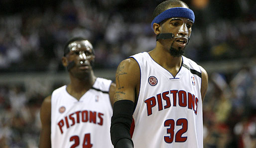 Orlando Magic, Detroit Pistons, Antonio McDyess, Richard Hamilton