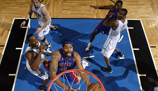 Spiel 3: Orlando Magic - Detroit Pistons 111:86 (Playoff-Stand 1-2)