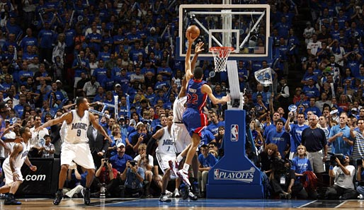 Spiel 4: Orlando Magic - Detroit Pistons 89:90 (Playoff-Stand: 1-3)