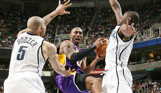 Spiel 6: Utah Jazz - Los Angeles Lakers 105:108 (Playoff-Stand: 2-4)