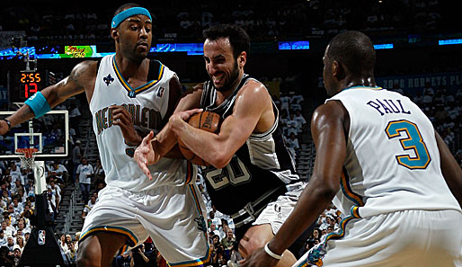 New Orleans Hornets - San Antonio Spurs 82:91 (Playoff-Stand: 3-4)