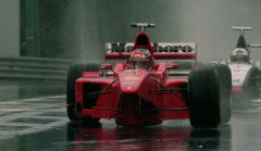 Michael Schumacher in Spa 1998