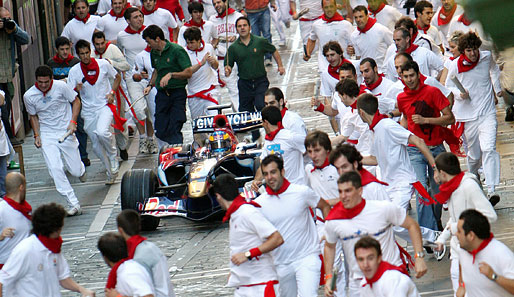 Red Bull Racing, Pamplona, Stiere