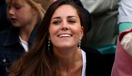 Kate Middleton, die Freundin von Prince William