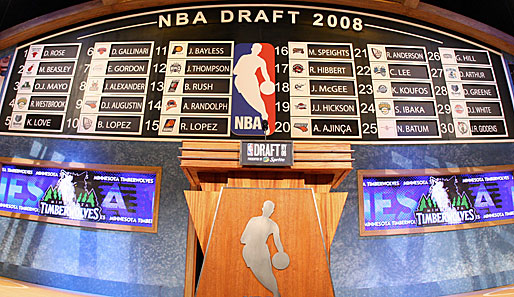 Der NBA-Draft 2008