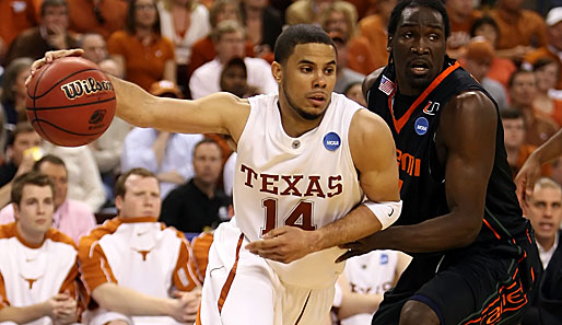 Pick Nummer 9: D.J. Augustin (Charlotte Bobcats), Point Guard, Texas