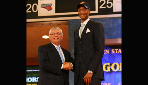 Pick Nummer 14: Anthony Randolph (Golden State Warriors), Power Forward, LSU