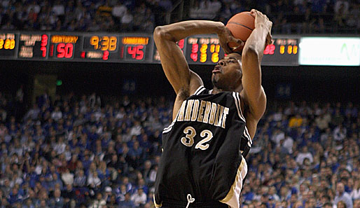 Pick Nummer 51: Shan Foster (Dallas Mavericks), Shooting Guard, Vanderbilt