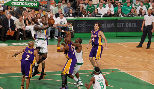 Spiel 2: Boston Celtics - Los Angeles Lakers 108:102 (Playoff-Stand: 2-0)