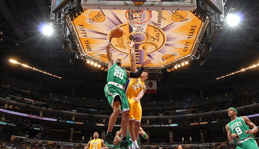 2010. Zum 12. Mal lautet die Paarung in den NBA Finals: Los Angeles Lakers vs. Boston Celtics