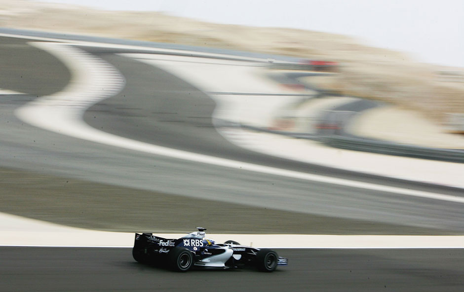 Das Debut in der Formel 1 gab Nico 2006 in Bahrain im Williams-Cockpit