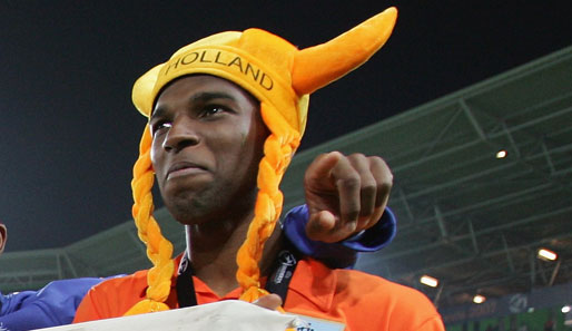 Ryan Babel peilt mit Oranje Gold an