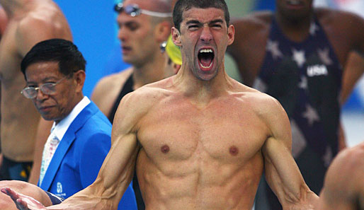 Emotional, emotionaler, Michael Phelps