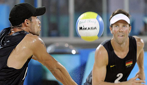 Olympia, Peking, Beachvolleyball, Klemperer, Koreng