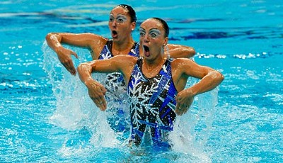 Olympia, Peking, Synchronschwimmen