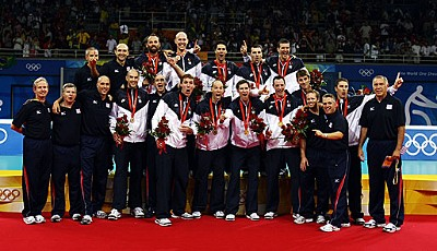 The Class of 2008: Die Volleyballer der USA holen Gold
