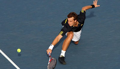 Shootingstar Ernests Gulbis fordert in Runde zwei...