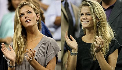 Die Freundin von Andy Roddick: Victoria-Secret-Model Brooklyn Decker