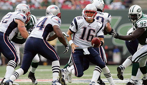 New York Jets - New England Patriots 10:19