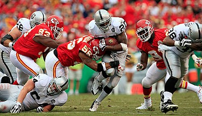 Kansas City Chiefs - Oakland Raiders 8:23