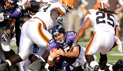 Baltimore Ravens - Cleveland Browns 28:10
