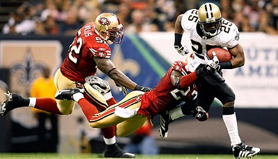New Orleans Saints - San Francisco 49ers 31:17