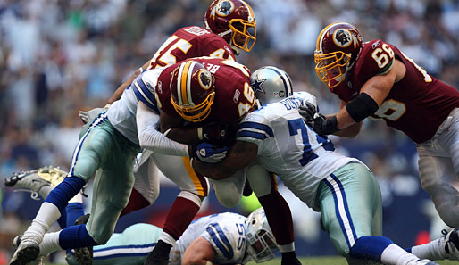 Dallas Cowboys - Washington Redskins 24:26