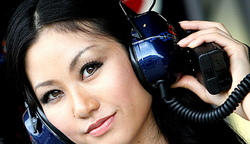 Formel1, Boxenluder, Japan-GP, Gridgirls,