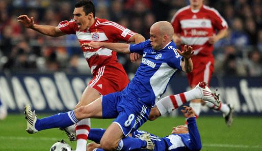 Bayern münchen schalke 04 beide teams schenkten sich im