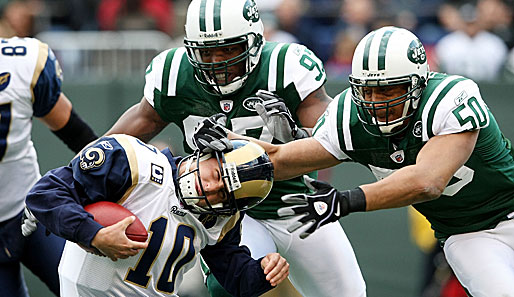 New York Jets - St. Louis Rams 47:3
