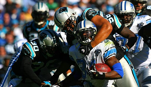 Carolina Panthers - Detroit Lions 31:22