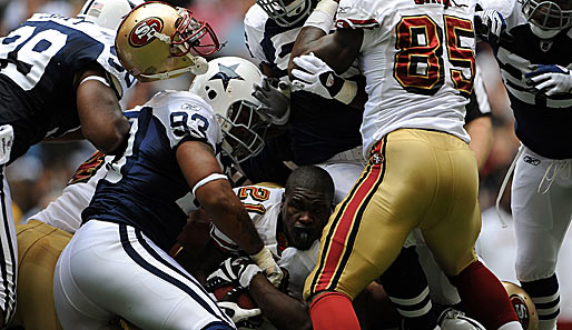 Dallas Cowboys - San Francisco 49ers 35:22