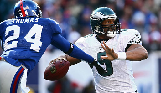 Eagles-QB Donovan McNabb in action!