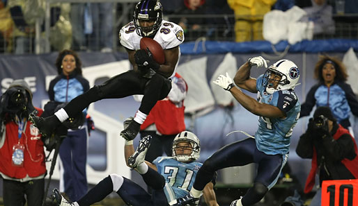 Starker Catch von Ravens-WR Mark Clayton