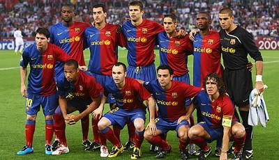 fc barcelona mannschaft