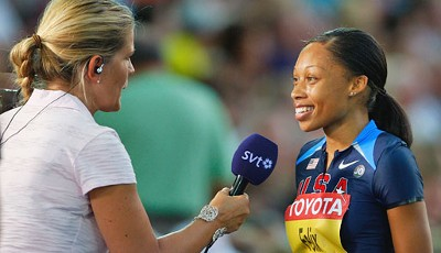 Allyson Felix im Interview