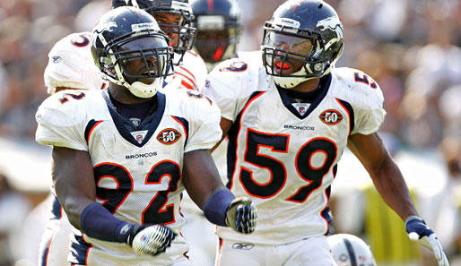 Meiste Sacks: Elvis Dumervil (Denver Broncos, Nr. 92): 14 Sacks, 37 Tackles, 3 Forced Fumbles