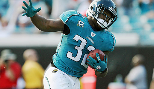 Meiste Touchdowns: Maurice Jones-Drew (Jacksonville Jaguars, Nr.32): 13 Touchdowns, 1001 Rush-Yards, 273 Receiving-Yards, 1 Fumble