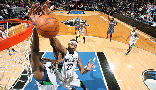 """Not in our house!"" - Die Minnesota Timberwolves beim Doppel-Block"