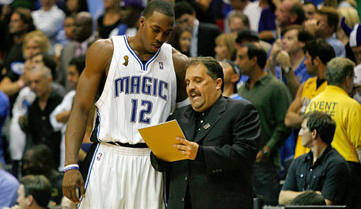 HEADCOACH EASTERN CONFERENCE: Stan Van Gundy (Orlando Magic), Saison-Bilanz: 36 Siege - 18 Niederlagen