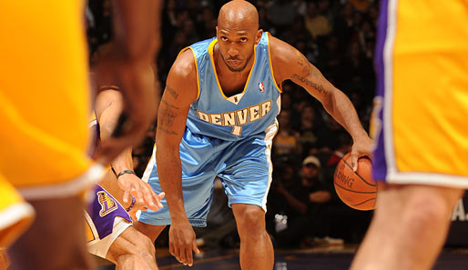 RESERVE WESTERN CONFERENCE: Chauncey Billups (Denver Nuggets), Guard, 5. Nominierung. Saison-Stats: 19,5 Punkte, 6,2 Assists