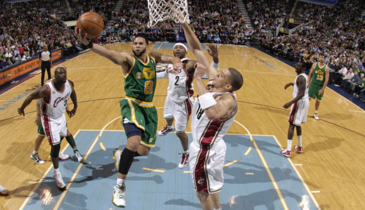 Deron Williams (Utah Jazz), Guard, 1. Nominierung. Saison-Stats: 18,6 Punkte, 9,8 Assists